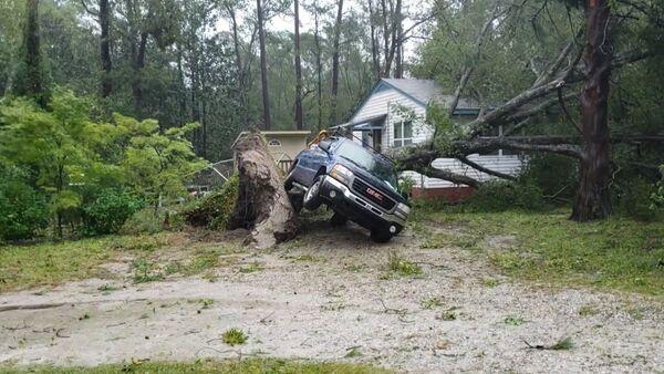 Последствия обрушившегося на США урагана Флоренс - Sputnik Латвия