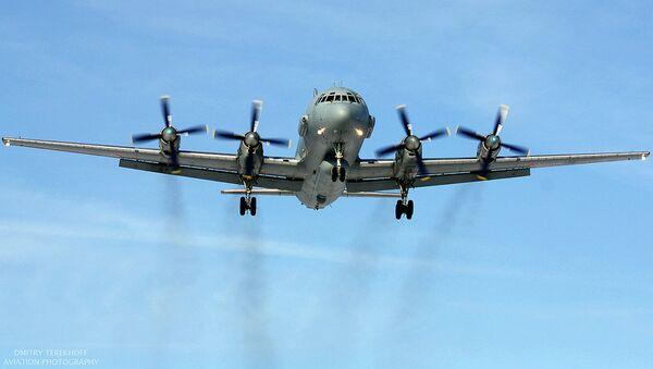 Krievijas lidmašīna Il-20. Foto no arhīva - Sputnik Latvija