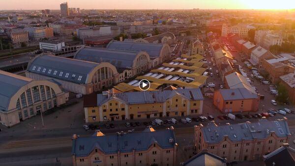 Праздник рыбы на Центральном рынке - Sputnik Latvija