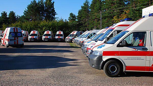 Машины литовской скорой помощи - Sputnik Latvija