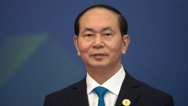 Президент Социалистической Республики Вьетнам Чан Дай Куанг - Sputnik Latvija
