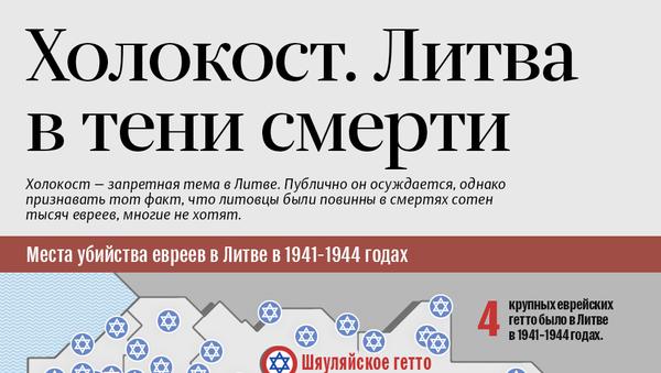 Холокост. Литва в тени смерти - Sputnik Латвия