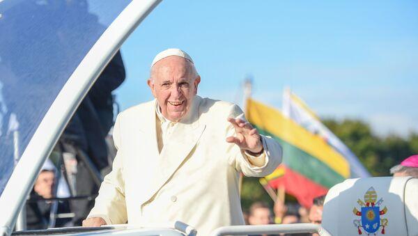 Romas pāvests Francisks. 23.09.2018 - Sputnik Latvija