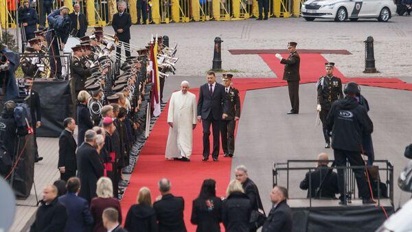 Romas pāvesta Franciska vizīte Latvijā - Sputnik Latvija