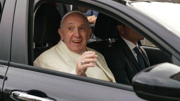Визит Папы римского Франциска в Ригу - Sputnik Латвия