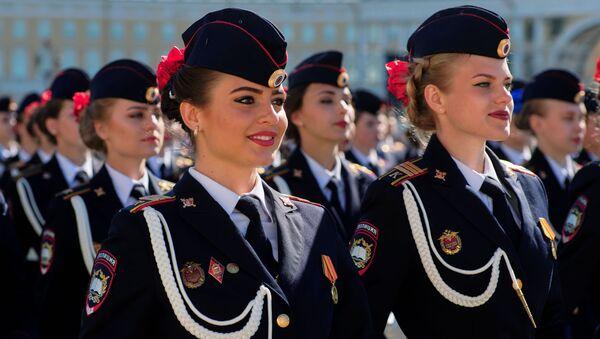 Генеральная репетиция парада Победы в Санкт-Петербурге  - Sputnik Latvija