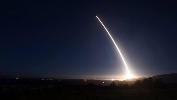 Испытания межконтинентальной баллистической ракеты Minuteman III - Sputnik Latvija