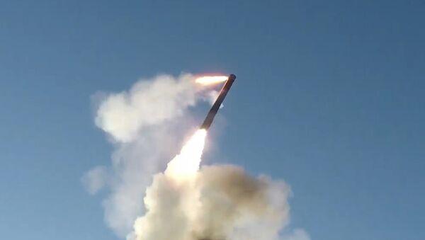 Пуск сверхзвуковой ракеты комплекса Бастион в Арктике - Sputnik Латвия