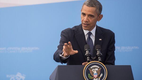 Президент Соединенных Штатов Америки (США) Барак Обама - Sputnik Латвия