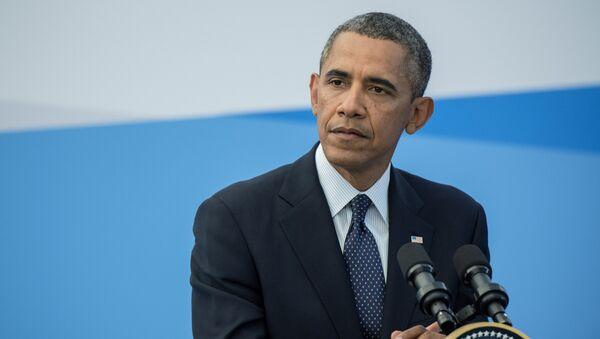 Президент Соединенных Штатов Америки (США) Барак Обама - Sputnik Latvija