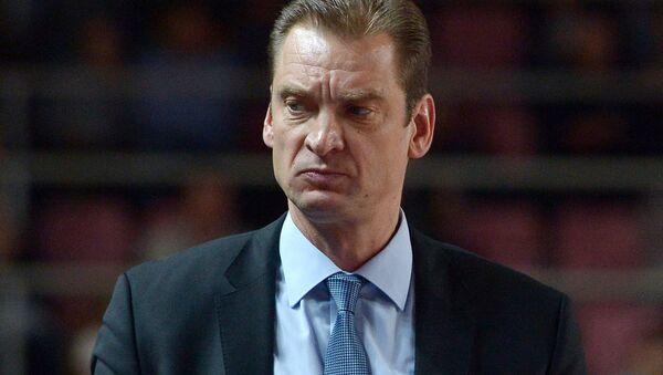 Тренер Гундарс Ветра - Sputnik Латвия