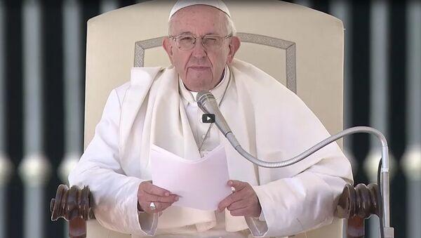 Папа Франциск о своей недавней поездке в Литву, Латвию и Эстонию - Sputnik Латвия
