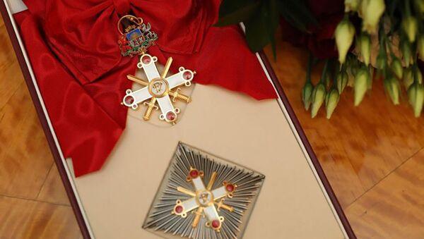 Орден Виестурса — государственная награда Латвии для военнослужащих - Sputnik Латвия