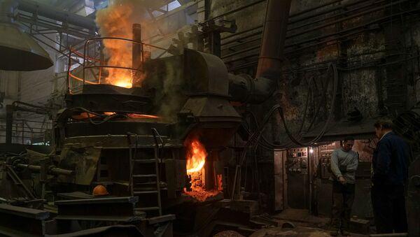 На заводе сохранился литейный цех - Sputnik Латвия