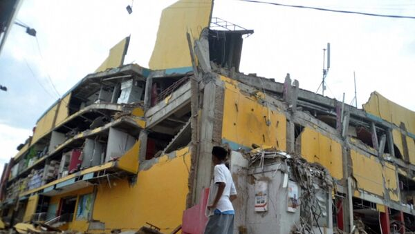 Последствия землятресения и цунами в Индонезии - Sputnik Латвия