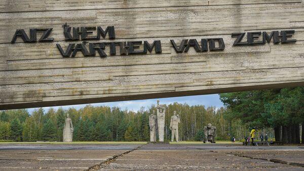 Семьдесят четвертая годовщина освобождения Саласпилсского концлагеря - Sputnik Латвия