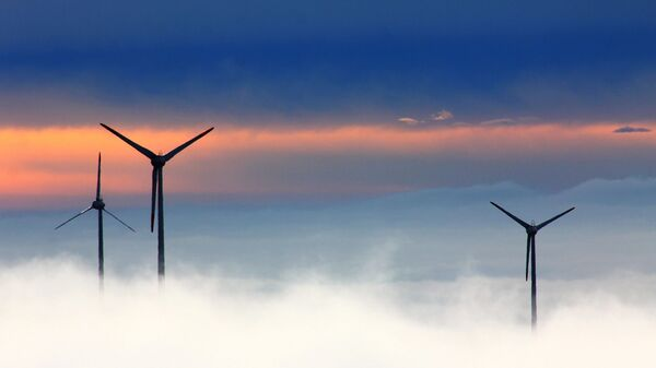 Ветряные электростанции - Sputnik Latvija