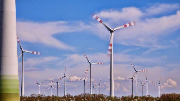 Ветряные электростанции - Sputnik Латвия