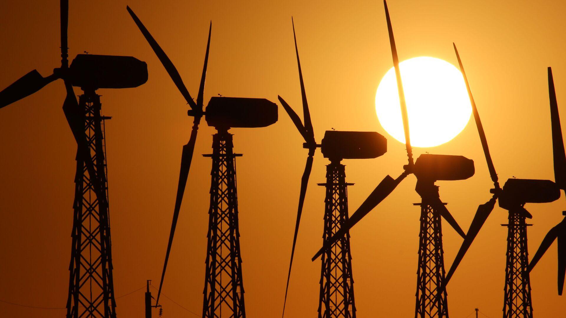 Ветрогенераторы - Sputnik Латвия, 1920, 26.06.2021