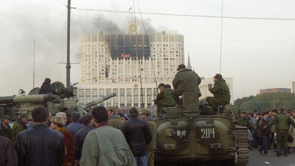 ''Черный октябрь'' 1993 года - Sputnik Латвия