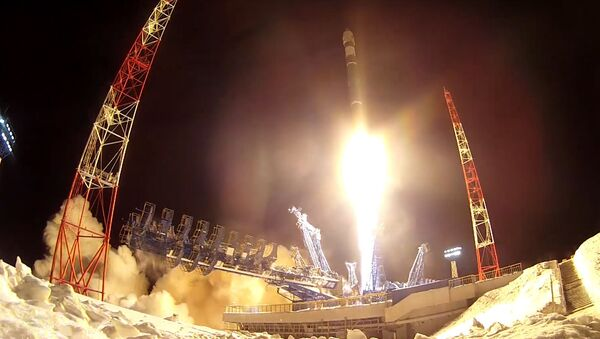 Космические войска России отмечают профессиональный праздник - Sputnik Latvija