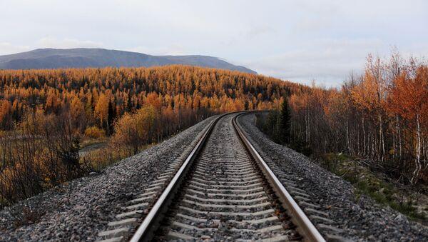 Северная железная дорога Воркута - Лабытнанги - Sputnik Латвия