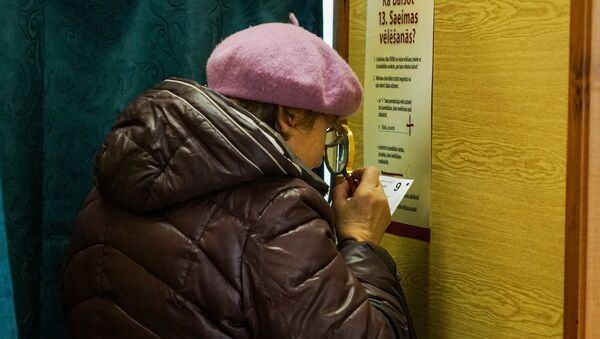 Выборы в Сейм Латвии - Sputnik Латвия