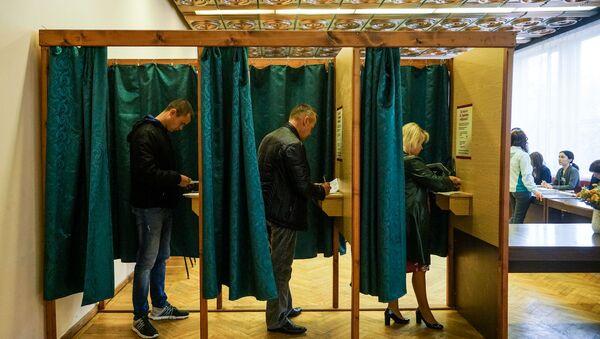 Кабинки для голосования - Sputnik Латвия