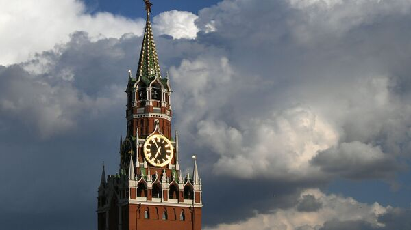 Спасская башня Московского Кремля - Sputnik Латвия