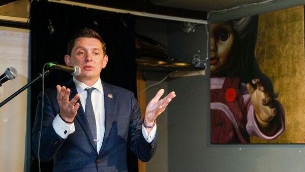 Лидер KPV LV Артусс Кайминьш после выборов - Sputnik Латвия