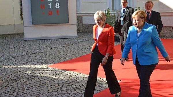 Неформальная встреча глав стран ЕС в Зальцбурге - Sputnik Латвия