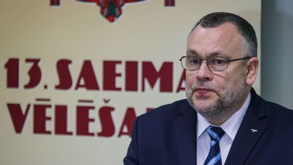 Арнис Цимдарс - экс-председатель Центральной избирательной комиссии Латвии - Sputnik Латвия
