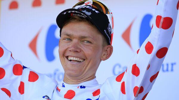 Латвийский профессиональный шоссейный велогонщик Томc Скуиньш - Sputnik Латвия
