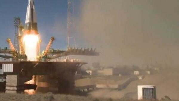 Sojuz MS-10 avārija: raķete lidoja nepilnas divas minūtes - Sputnik Latvija
