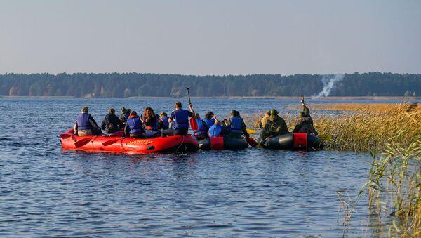 Старт реконструкции форсирования Киш-озера - Sputnik Латвия