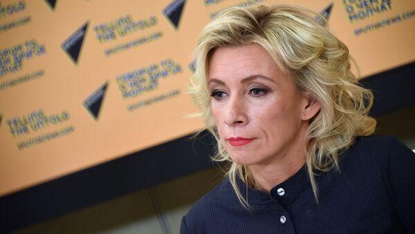 Мария Захарова - Sputnik Латвия