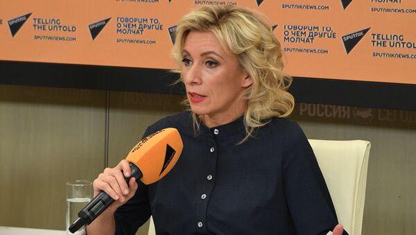 Мария Захарова - Sputnik Latvija