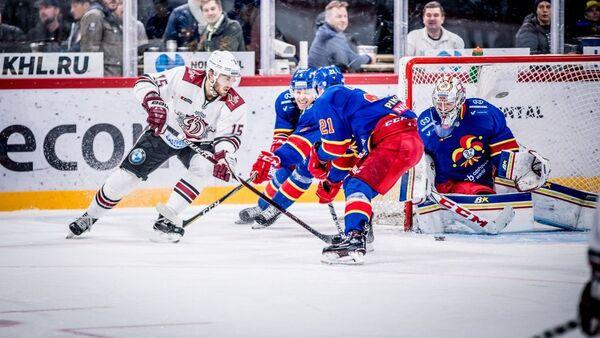 Динамо (Рига) уступило финскому Йокериту в Хельсинки - Sputnik Латвия