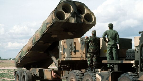 Американский ракетный комплекс средней дальности BGM-109G_Gryphon - Sputnik Latvija