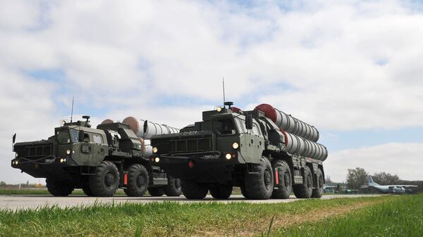Зенитные ракетные комплексы C-400  - Sputnik Латвия