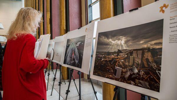 Выставка лауреатов конкурса им. Стенина-2018 в штаб-квартире ООН - Sputnik Латвия