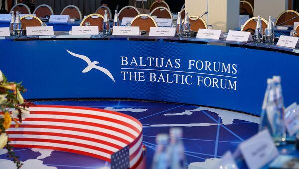 XXIII Международная конференция Балтийского форума Русские на западе - Sputnik Латвия