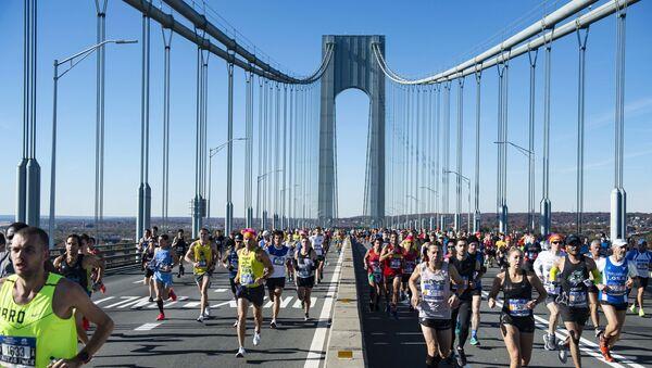 Нью-Йоркский марафон 4 ноября 2018 года - Sputnik Латвия