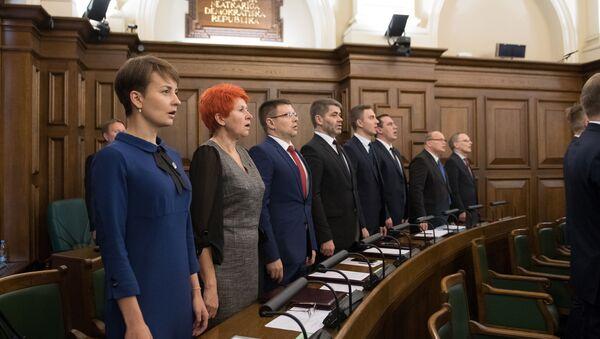 Первое заседание Сейма 13-го созыва - Sputnik Latvija
