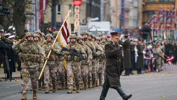 Празднование Дня Лачплесиса в Риге - Sputnik Латвия