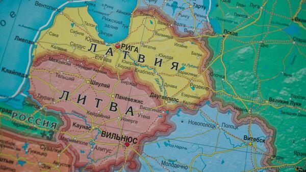 Карта действий Лиги Молодежи - Sputnik Латвия
